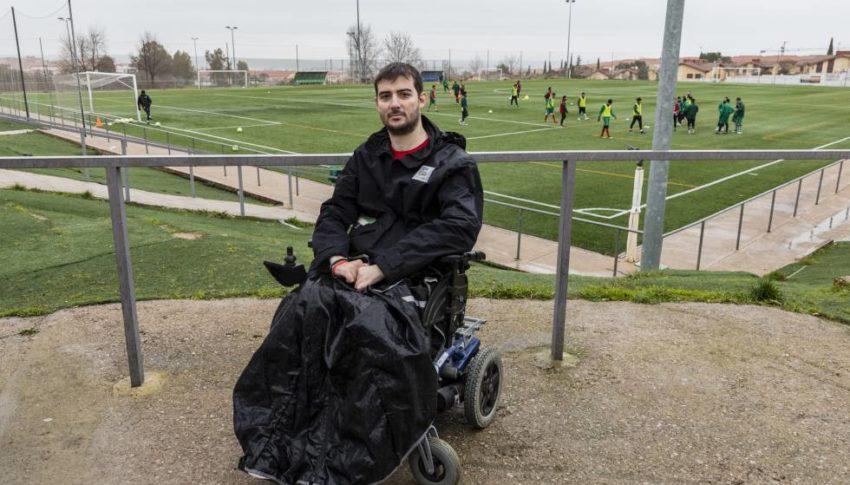 La silla de ruedas le cambió su vida