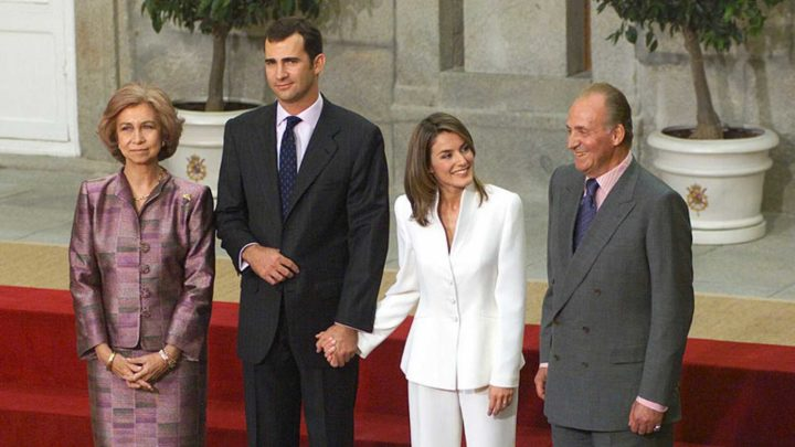 Pedida de Mano de Felipe de Borbón y Leticia