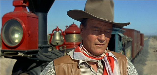 John Wayne usa pañuelo