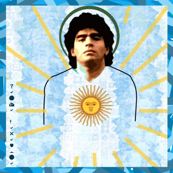 Maradona Dios